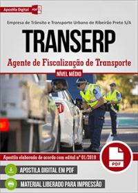 Agente de Fiscalização de Transporte - TRANSERP