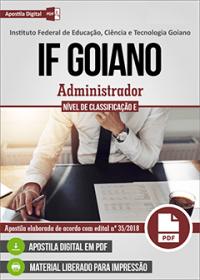 Administrador - IF Goiano