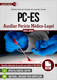 Auxiliar Perícia Médico-Legal - Polícia Civil - ES