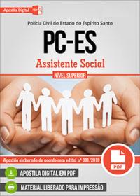 Assistente Social - Polícia Civil - ES