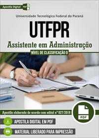 Assistente em Administração - UTFPR