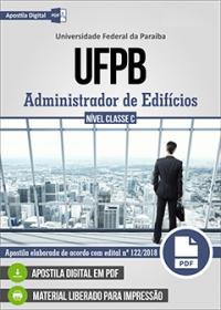 Administrador de Edifícios - UFPB