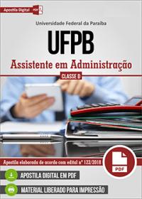 Assistente em Administração - UFPB
