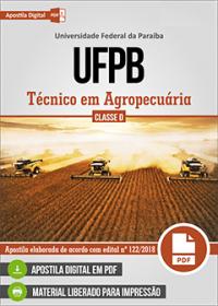 Técnico em Agropecuária - UFPB