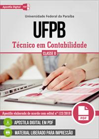 Técnico em Contabilidade - UFPB