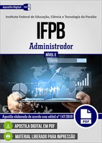 Administrador - IFPB