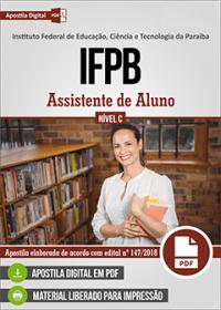 Assistente de Aluno - IFPB