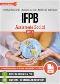 Assistente Social - IFPB