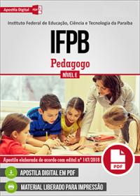 Pedagogo - IFPB
