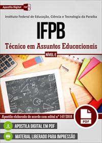 Técnico em Assuntos Educacionais - IFPB