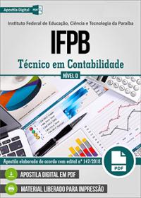 Técnico em Contabilidade - IFPB
