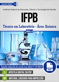 Técnico em Laboratório - Química - IFPB