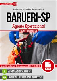 Agente Operacional - Prefeitura de Barueri - SP