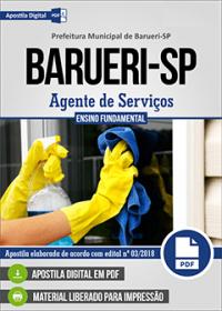 Agente de Serviços - Prefeitura de Barueri - SP