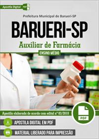 Auxiliar de Farmácia - Prefeitura de Barueri - SP