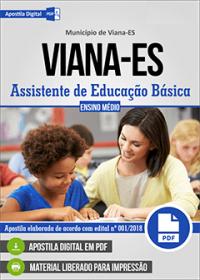 Assistente de Educação Básica - Prefeitura de Viana - ES