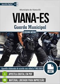Guarda Municipal - Prefeitura de Viana - ES