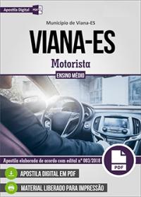 Motorista - Prefeitura de Viana - ES