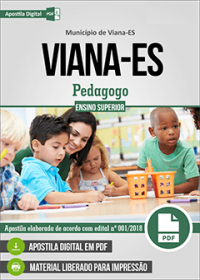 Pedagogo - Prefeitura de Viana - ES