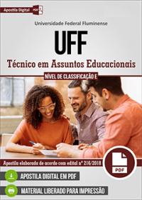 Técnico em Assuntos Educacionais - UFF