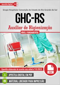 Auxiliar de Higienização - GHC - RS