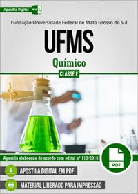 Químico - UFMS