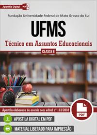 Técnico em Assuntos Educacionais - UFMS