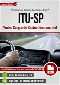 Ajudante de Serviços Gerais - Prefeitura de Itu - SP