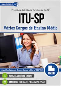 Agente Administrativo - Prefeitura de Itu - SP