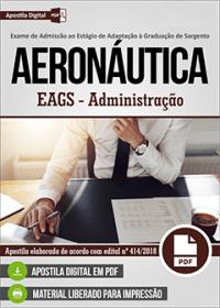 EAGS - SAD - Administração - Aeronáutica