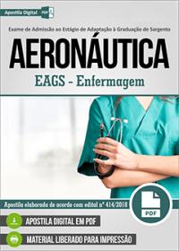 EAGS - SEF - Enfermagem - Aeronáutica