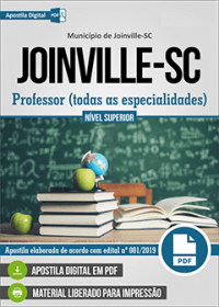 Professor - Prefeitura de Joinville - SC