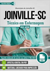 Técnico em Enfermagem - Prefeitura de Joinville - SC