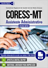 Assistente Administrativo - CORESS - MT