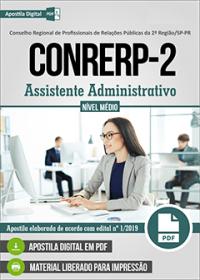 Assistente Administrativo - CONRERP 2ª Região