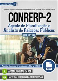 Agente de Fiscalização e Analista de Relações Públicas - CONRERP 2ª Região