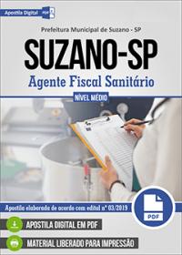 Agente Fiscal Sanitário - Prefeitura de Suzano - SP