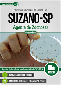 Agente de Zoonoses - Prefeitura de Suzano - SP