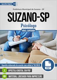 Psicólogo - Prefeitura de Suzano - SP