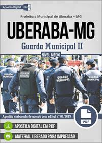 Guarda Municipal II - Prefeitura de Uberaba - MG