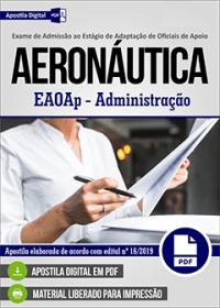 EAOAp - Administração - Aeronáutica