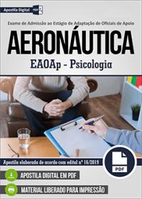 EAOAp - Psicologia - Aeronáutica