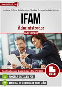 Administrador - IFAM