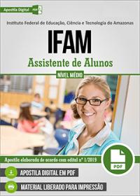 Assistente de Alunos - IFAM