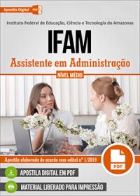 Assistente em Administração - IFAM