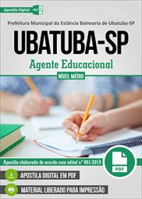 Agente Educacional - Prefeitura de Ubatuba - SP