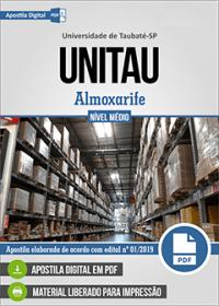 Almoxarife - UNITAU