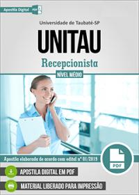 Recepcionista - UNITAU