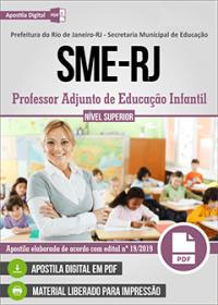 Professor Adjunto de Educação Infantil - SME - Prefeitura do Rio de Janeiro - RJ