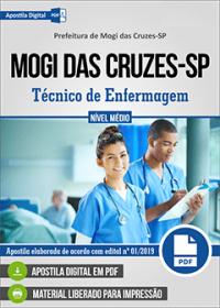Técnico de Enfermagem - Prefeitura de Mogi das Cruzes - SP